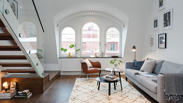 Apartament w centrum Sztokholmu