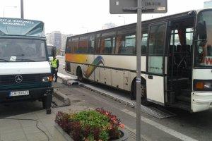 Pora�aj�ce wyniki kontroli prywatnych autobus�w. Wszystkie niesprawne