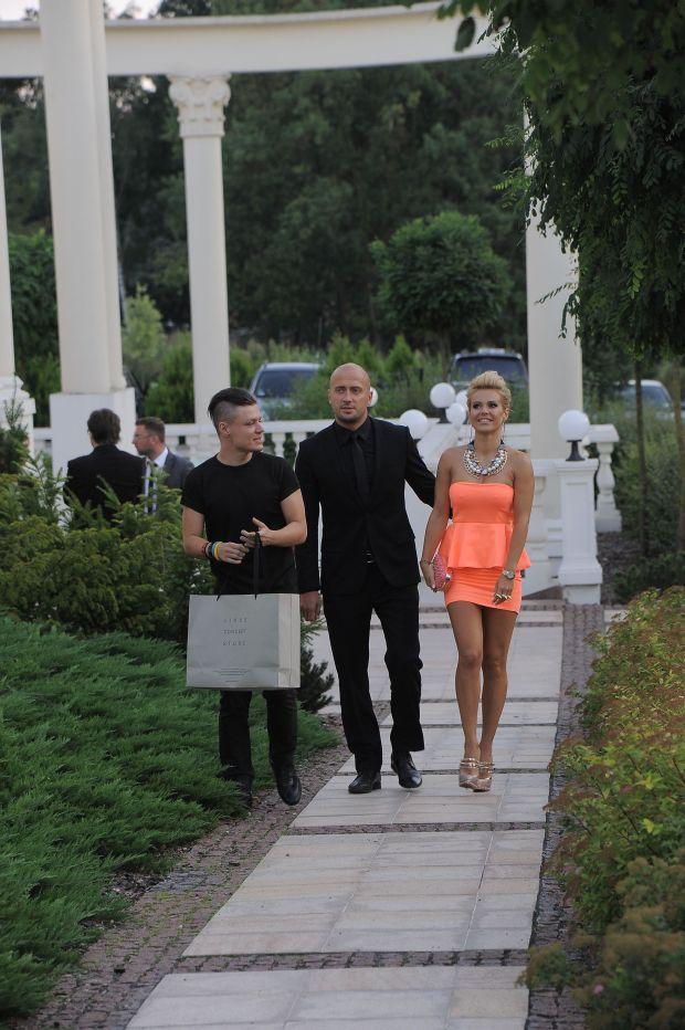Jachranka, 17.08.2012, Hotel Windsor - Wesele Tomasza Luberta i Ewy Wojtasik,  NZ.   Fot.: Radoslaw NAWROCKI / FORUM