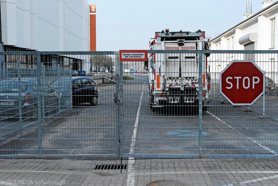 Międzynarodowe Targi Poznańskie. Teren na którym planowana była budowa wielopoziomowego parkingu