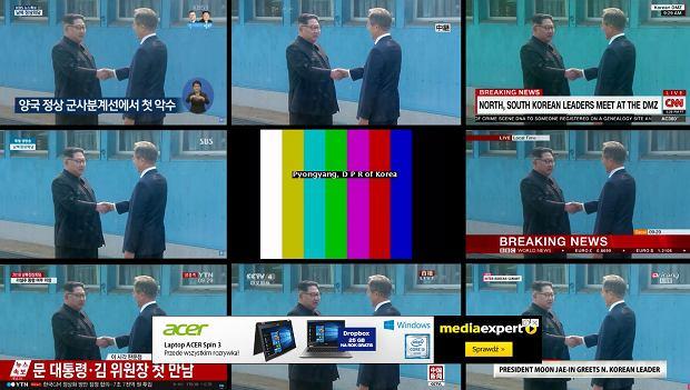 Szczyt koreański w różnych mediach