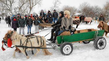 Rumunia jest trochę jak bałkańska wersja Polski - [SZCZEREK]. N/z. przygotowania do tradycyjnego świątecznego wyścigu koni