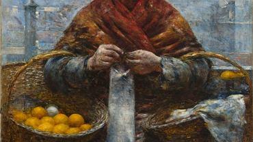 Aleksander Gierymski, ''Żydówka z pomarańczami'', ok. 1880-81