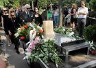 Pogrzeb Andrzeja Łapickiego na Powązkach