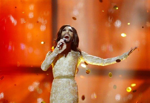 Conchita Wurst, zwyciężczyni ubiegłorocznej Euroziwji