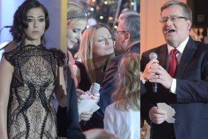 Buziaczki, prezydent Komorowski przy mikrofonie i najwi�ksze gwiazdy na scenie. Znani na Kol�dowaniu w Pa�acu Prezydenckim