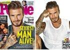 """40-letni David Beckham najseksowniejszym mężczyzną na świecie według magazynu """"People"""": Myślałem, że jestem na to za stary..."""