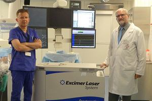 Kardiolodzy z Lublina leczą laserem. Jedyni w kraju!