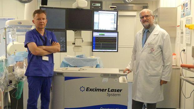 Kardiolodzy z Lublina lecz� laserem. Jedyni w kraju!