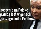 """Kaczyński gani za """"donoszenie na Polskę"""". A rok temu PiS mówił w PE o """"zagrożeniu dla demokracji"""""""