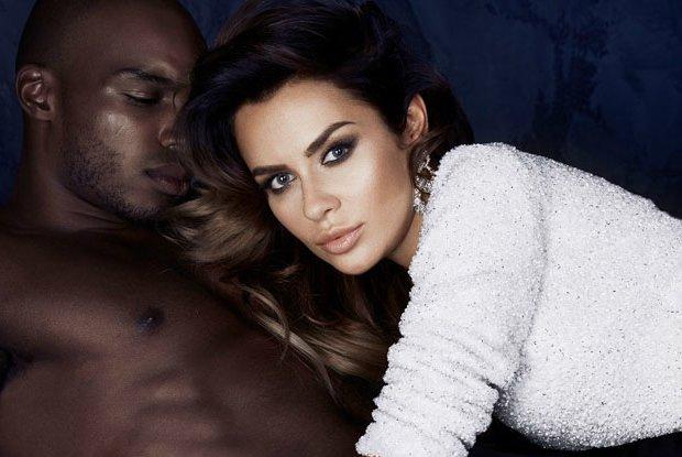 """Andre Whyte z """"Top Model"""" pozuje z... Natali� Siwiec. Nietypowa para w kampanii CHAOS by Marta Boliglova [ZDJ�CIA]"""