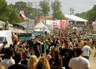 Przystanek Woodstock opóźniony. Wszystko przez deszcz, woda podmywa namioty