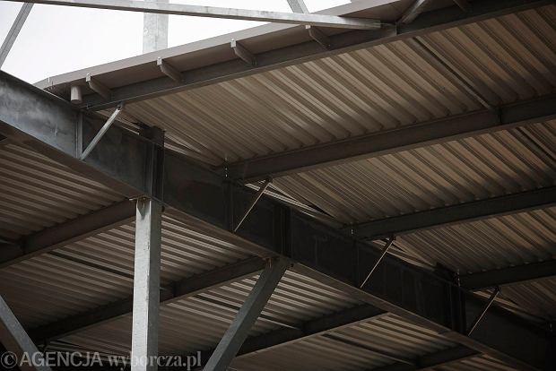 Zdjęcie numer 30 w galerii - Budowa stadionu Widzewa. Widać już napis