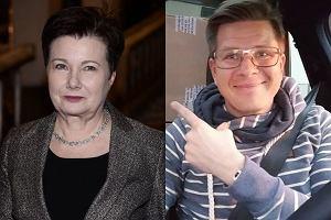 Hanna Gronkiewicz-Waltz i Filip Chajzer