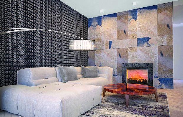 Smutny, szary, zimny? Taki beton to już przeszłość.Producenci oferują płyty w różnych kolorach i wzorach. BRONX, płyty betonowe, od 30 x 60 cm do 100 x 60 cm, gr. 8 cmod 220 zł/m kw. Dekoconcrete