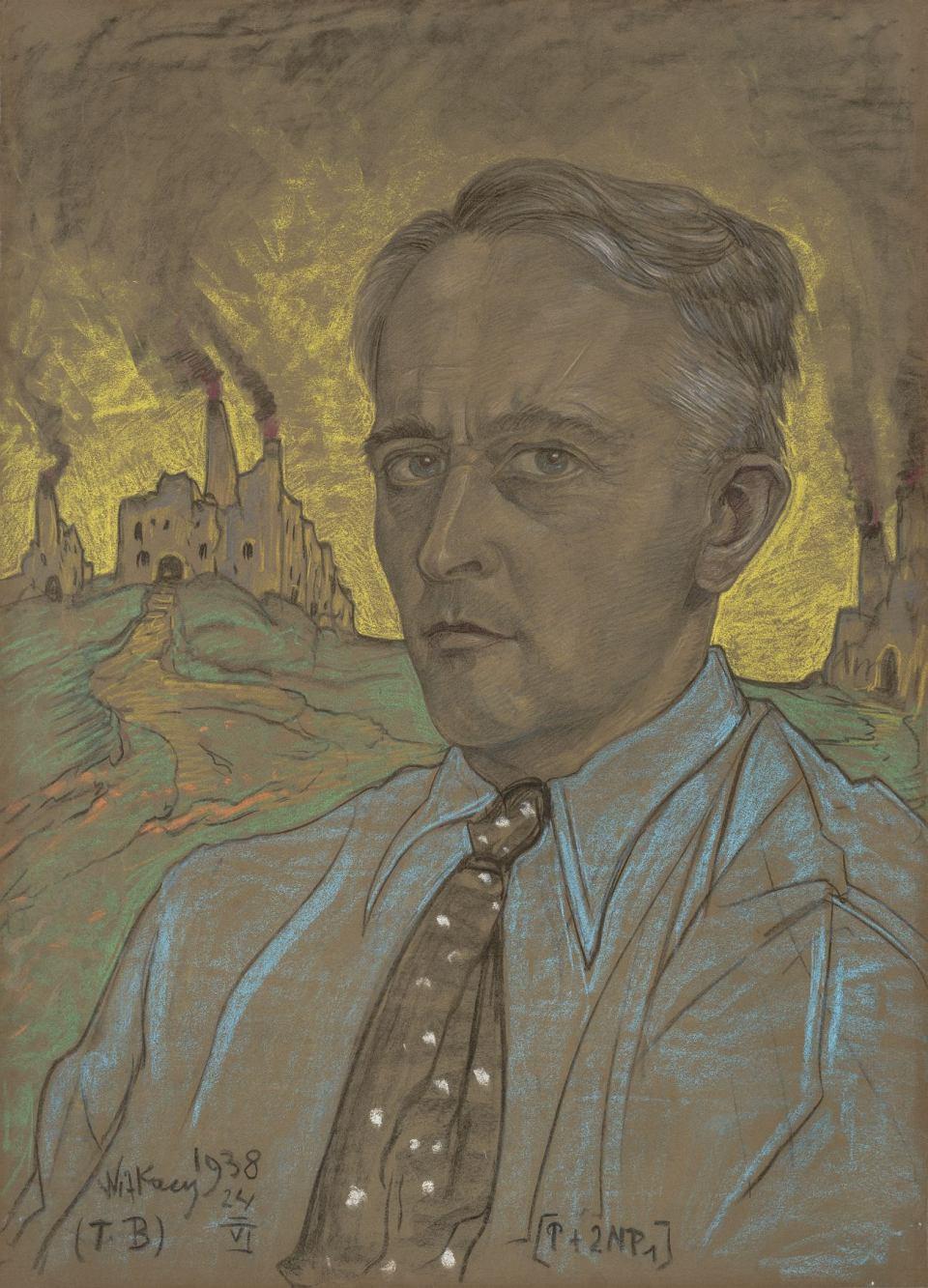 Witkacy, autoportret
