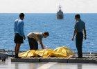 """Indonezja: znów przerwano próby wydobycia wraku samolotu linii AirAsia. """"Przepraszamy rodziny ofiar"""""""