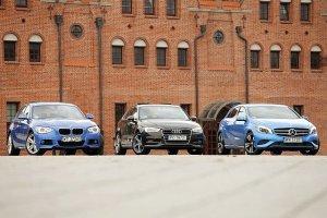 Audi A3 vs. BMW serii 1 vs. Mercedes klasy A | Konfrontacja