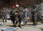 Afganistan. 16 osób, w tym 4 żołnierzy NATO, zginęło w zamachu talibów