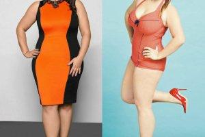 Modne stylizacje dla kobiet XL: do pracy, na imprez� i na pla��