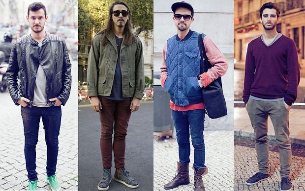Street fashion w wydaniu męskim