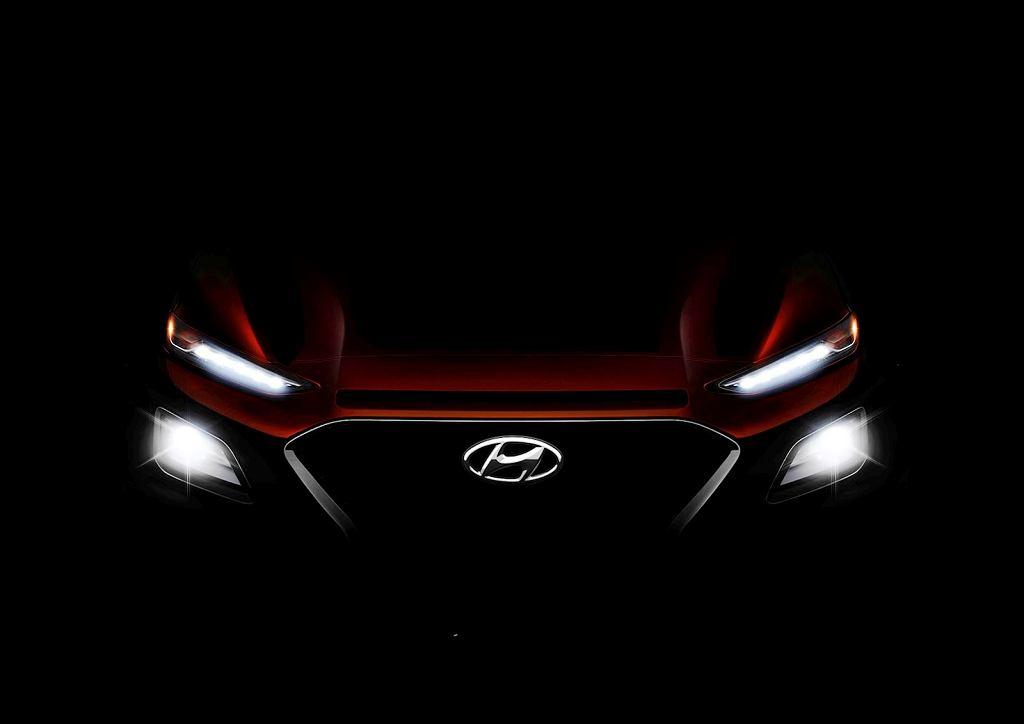 Teaser Hyundaia Kona