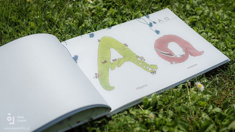 Książeczka 'Animal abc - book to look'