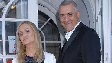 Roman Giertych i jego żona Barbara Giertych