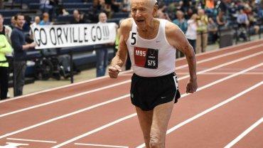 Orville Rogers podczas lekkoatletycznych mistrzostwach USA seniorów