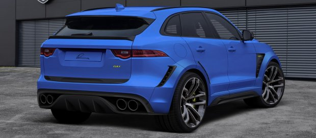 Jaguar F-Pace CLR F