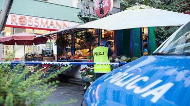 Nożownik zaatakował kobietę sprzedającą warzywa na straganie