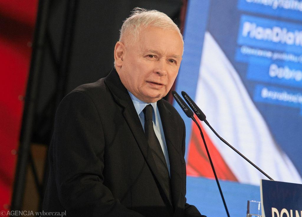 Wybory samorządowe 2018. Prezes PiS Jarosław Kaczyński