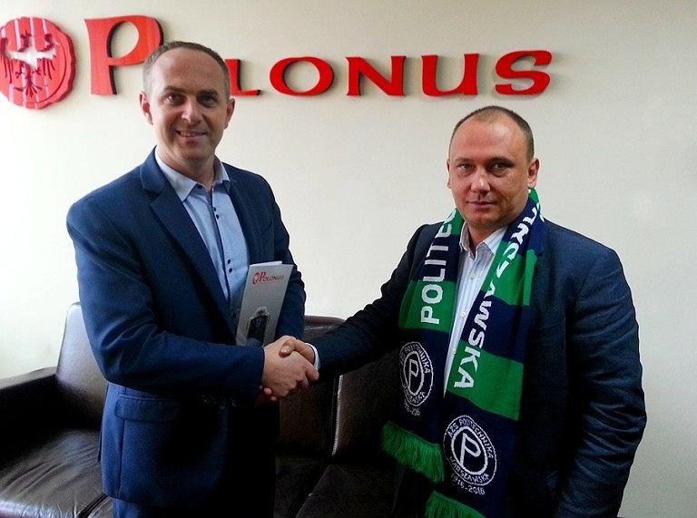 AZS Politechnika Warszawska SA i PKS Polonus SA podpisały umowę, która obowiązywać będzie do 2019 roku