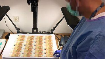 Fałszował euro i sprzedawał je w sieci