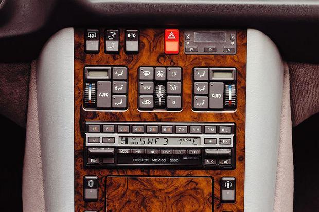 Tak wyglądało sterowanie automatyczną klimatyzacją w latach 90-tych