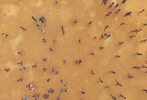 Kadr z filmu 'Wędrówki ludów' ('Human Flow') / Materiały prasowe