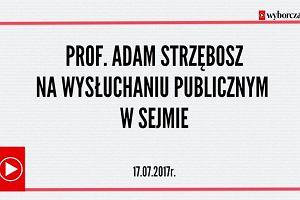 Nie ma instytucji w Polsce, która byłaby tak oczyszczona po 1989 roku - prof. Adam Strzembosz o Sądzie Najwyższym
