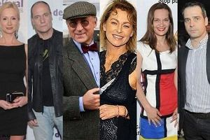 Maria Seweryn, Paweł Deląg, Pacuła Piotr Fronczewski, Piotr Zelt, Ewa Gawryluk