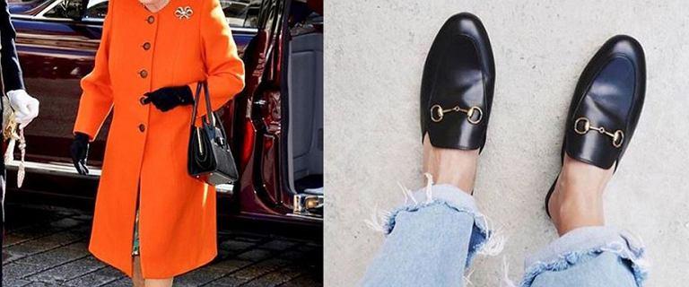 """Królowa Elżbieta II w ulubionych butach """"it-girls"""". Modne i wygodne!"""
