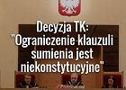 Trybunał Konstytucyjny podjął decyzję ws. klauzuli sumienia