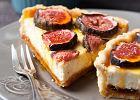 Tarta serowa z figami na ciep�o