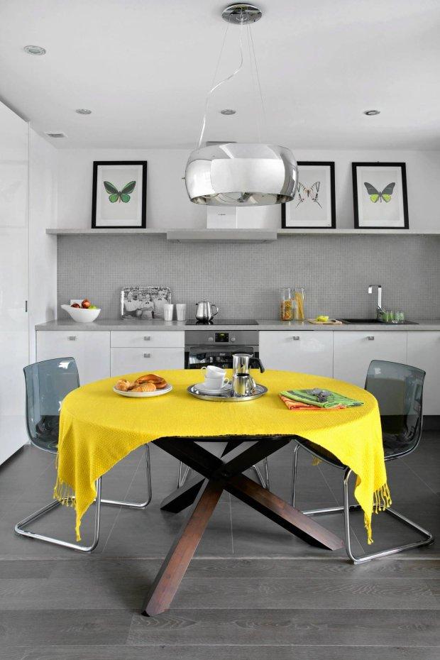 szare wnętrza, aranżacja wnętrz, kuchnia