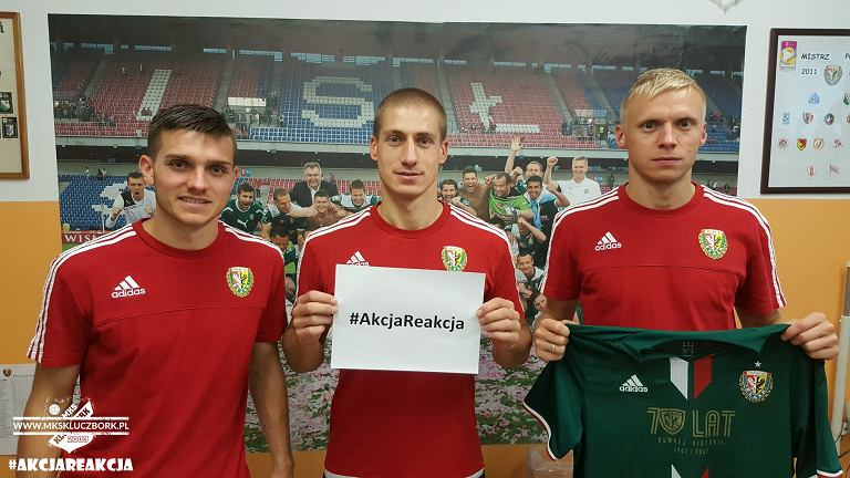Wylicytuj koszulkę piłkarskiego Śląska