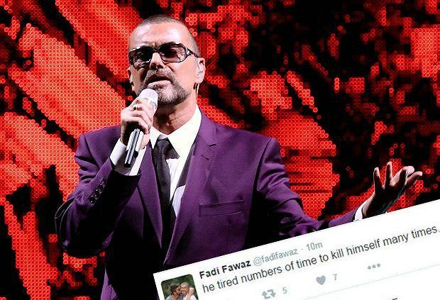 George Michael popełnił samobójstwo - takie informacje można było przeczytać na Twitterze jego partnera. Szybko zniknęły, a samo konto zostało skasowane.