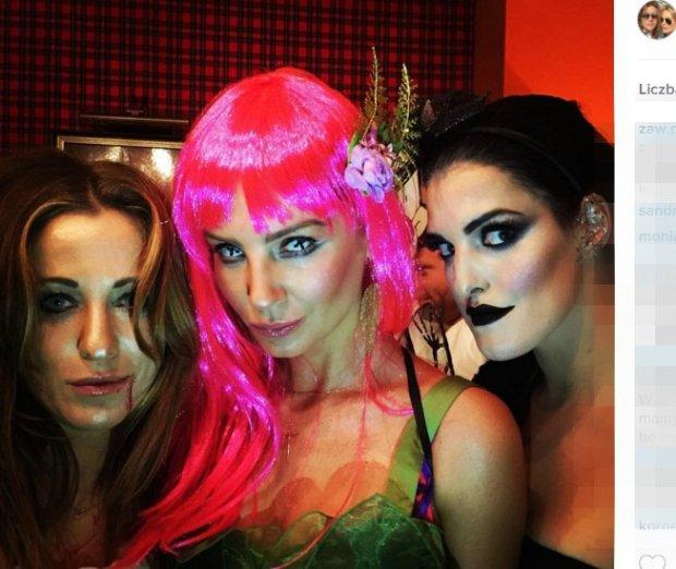 Zdjęcie numer 2 w galerii - Agnieszka Szulim i Julia Starak spędzały Halloween razem. Przebrały się za... Wiemy z Instagramu Piotra.