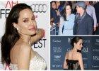 """Angelina Jolie promuje """"By The Sea"""". Wybiera pastele, lekkie i zwiewne tkaniny oraz kreacje zakrywające ciało. Ale i tak widać, jak bardzo jest szczupła. Za bardzo...?"""