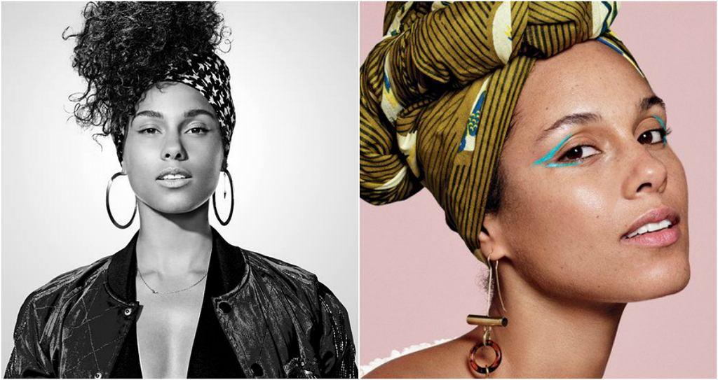 Alicia Keys wystąpiła w makijażu w sesji dla 'Allure'. Artystka nie używała kosmetyków od maja 2016 r. Na zdjęciach Paoli Kudacki widzimy Keys w dwóch wersjach - bez i z makijażem