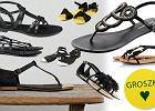 Czarne p�askie sanda�y - ponad 60 propozycji!
