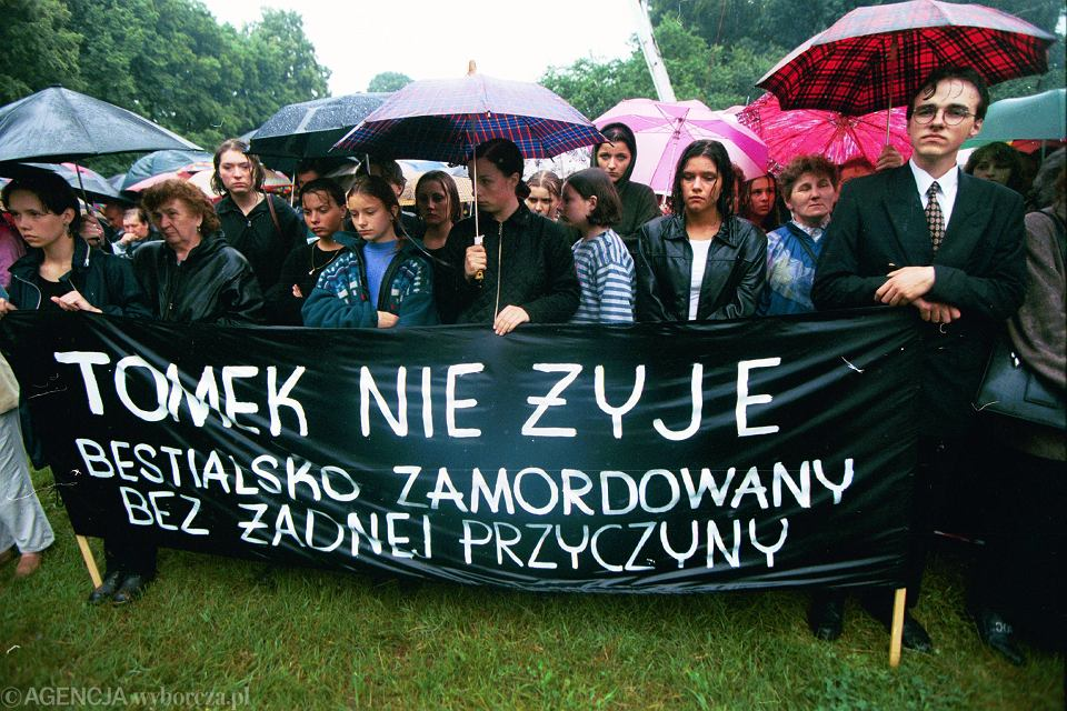 Marsz pamięci po śmierci Tomka Jaworskiego