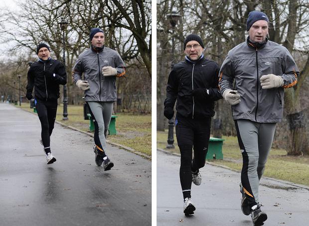 Piotr Pacewicz i Tomasz Lis (fot. Filip Klimaszewski/Agencja Gazeta)